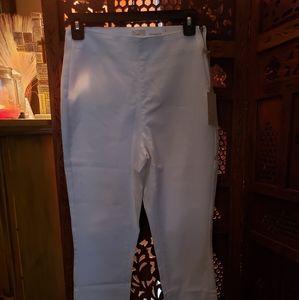 Women's White High Rise Skinny Jean
